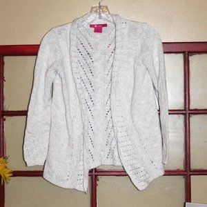 $3/30  Girls Knit Cardigan Sweater